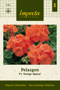 Pelargon F1 'Orange Appeal'