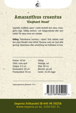 Blodamarant 'Elephant Head'