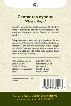 Blåklint 'Classic Magic'