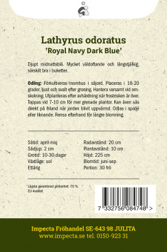 LUKTÄRT 'Royal Navy Dark Blue'