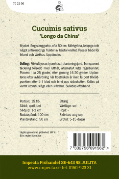 Slanggurka 'Longo da China'