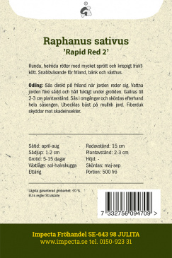 Rädisa 'Rapid Red 2'