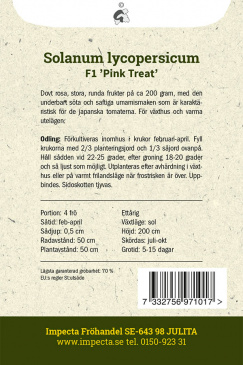 Japansk Tomat F1 'Pink Treat'