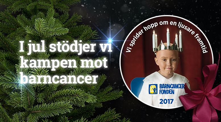 Impecta stödjer Barncancerfonden