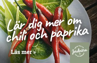 Lär dig mer om chili och paprika