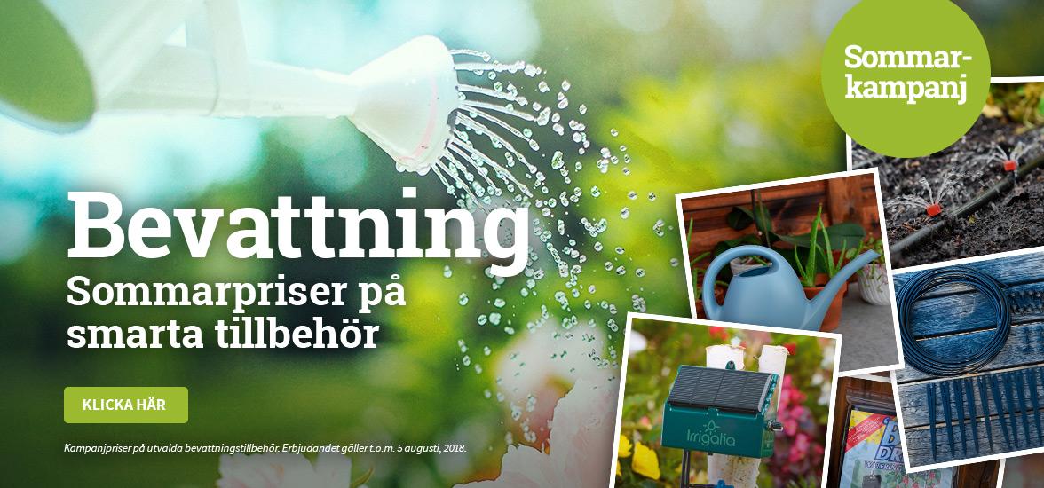 Bevattning - Sommarpriser på smarta tillbehör