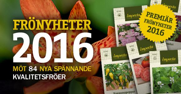 Impectas Frönyheter 2016