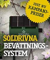 Sommarkampanj - Soldriven bevattning