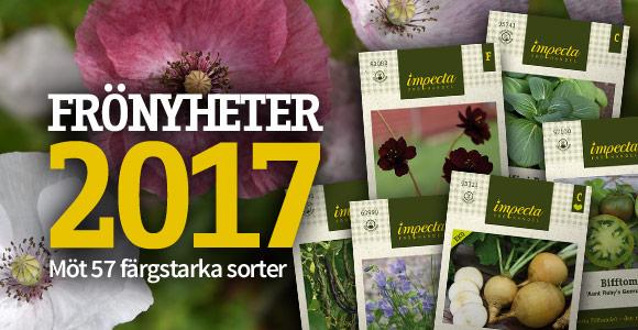 Impecta Fröhandel's frönyheter 2017