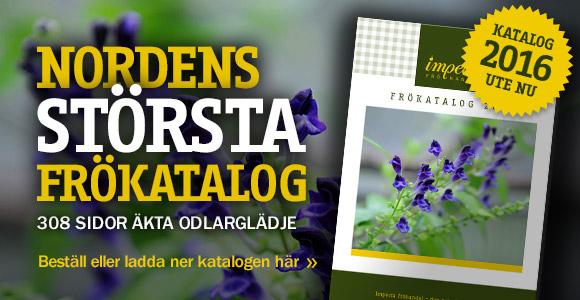 Beställ årets frökatalog!