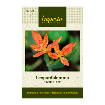 Leopardblomma 'Freckle Face'