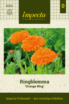Ringblomma 'Orange King' Impecta fröpåse