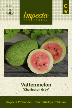 Vattenmelon 'Charleston Gray' Impecta fröpåse