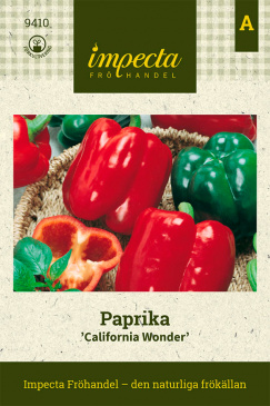 Paprika 'California Wonder'