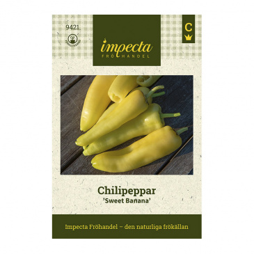 Chilipeppar 'Sweet Banana'