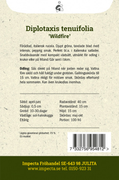 Italiensk Rucola 'Wildfire'
