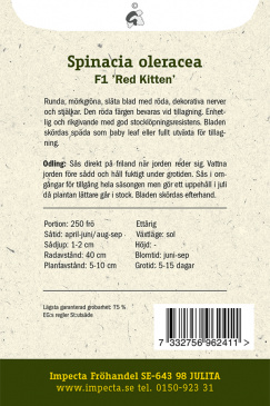 Spenat F1 'Red Kitten'
